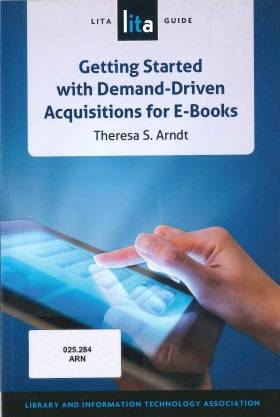Getting Started With Demand-Driven Acquisitions For E-Books